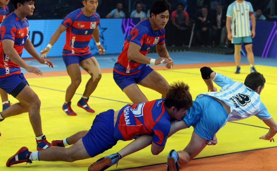 South Korea, who begin their campaign by upsetting favourites India in their opening game, also continued their good run defeating Argentina 68-42.