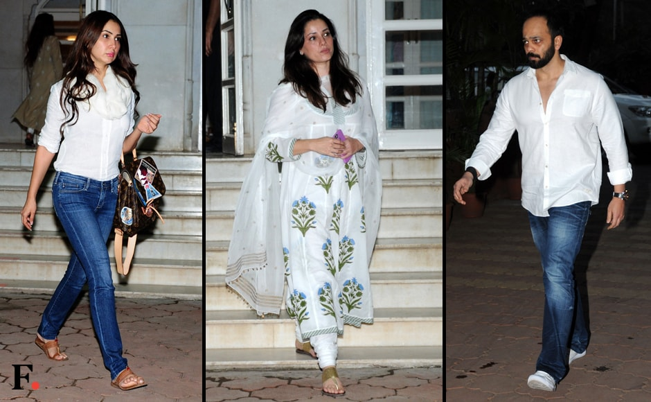 Kim Sharma, Neelam Kothari and Rohit Shetty also attended the meet. Sachin Gokhale/Firstpost