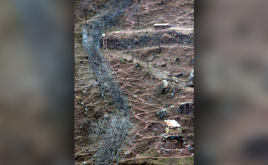 Pakistani troops resorted to unprovoked firing in three areas of Noushera Rajouri district on Tuesday. Firstpost