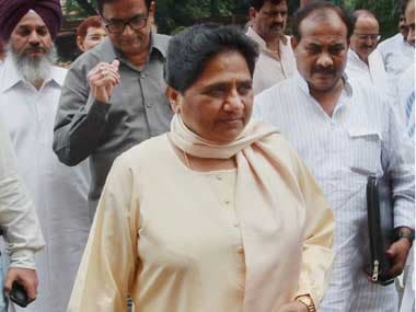 A file photo of Mayawati. PTI