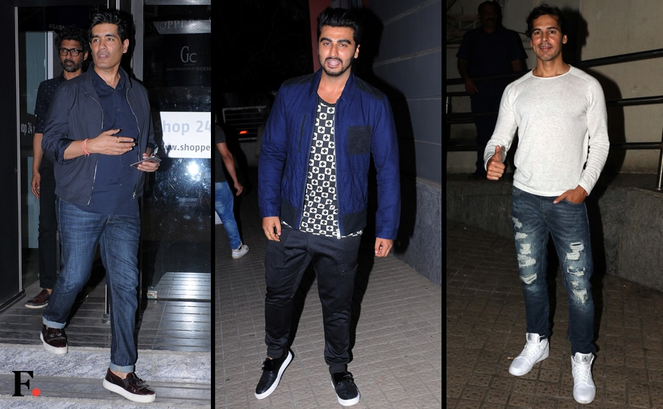 All of Karan's friends from the industry were in attendance at the star-studded event including designer Manish Malhotra, Arjun Kapoor and Dino Morea. Sachin Gokhale/Firstpost