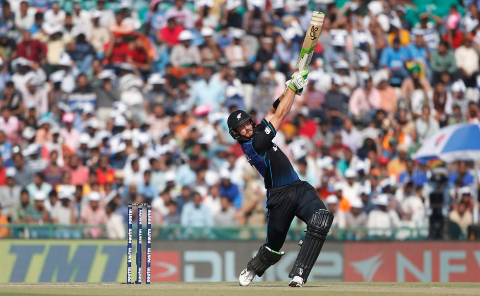The Kiwis lost the toss but raced off to a good start with Martin Guptill scoring a brisk 27 runs and Tom Latham stringing 61 runs. AP