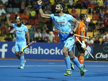 Rupinder Pal Singh scored the winner. Image credit: Twitter/TheHockeyIndia