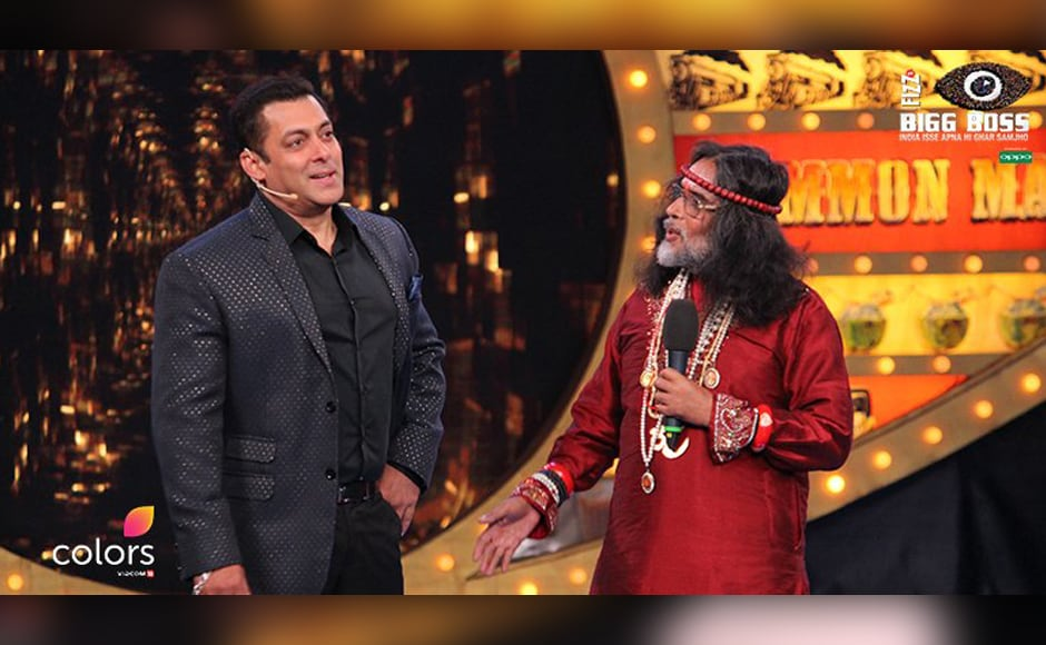 Self-styled godman Om Swami had his sights set on the big prize after entering Bigg Boss 10: Finding Salman Khan a nice girl to marry. Well swamiji, we do believe Salman has already 'found a nice girl' and her name may well be Ms Iulia Vantur.