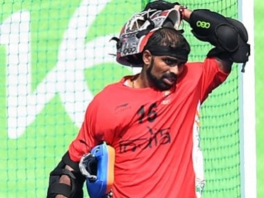 Indian goalkeeper PR Sreejesh had been vocal in the weeks leading up to the India vs Pakistan match. AFP file image