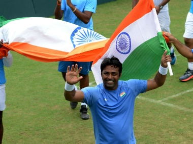 File image of Leander Paes. AFP
