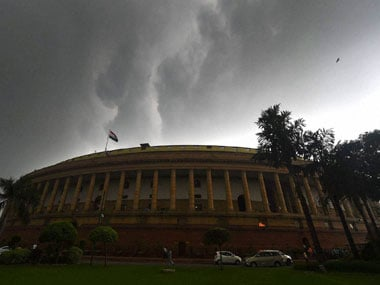 File image of the Indian Parliament. PTI