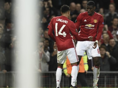 Paul Pogba's brace sealed Manchester United's victory. AFP