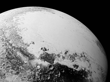 A view of Pluto from Nasa's New Horizons. Reuters