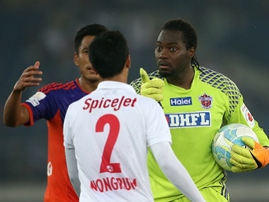 Pune City earned a draw due to goalkeeper ApoulaEdel Bete's heroics. ISL