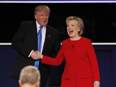 File photo of Donald Trump and Hillary Clinton. Reuters
