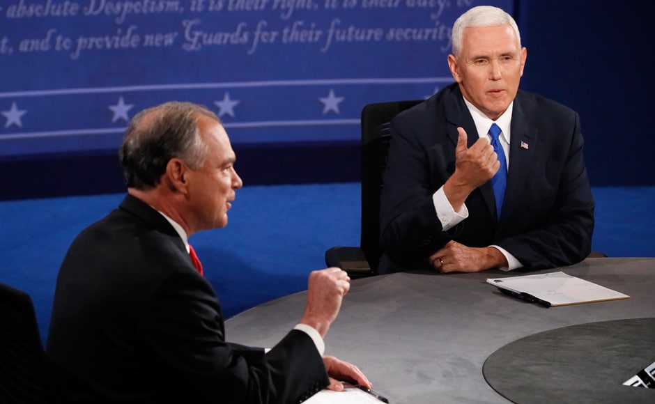 Pence was as modest and polite in style as Trump was brash and insulting, while Kaine, also with a modest style on Capitol Hill, appeared to take a more aggressive stance than Pence in attacking the rival camp. Reuters