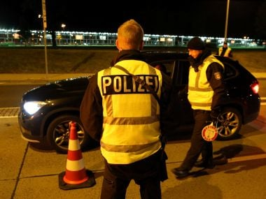File photo of German police. Reuters