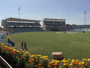 JSCA stadium in Ranchi. Twitter/ @BlackCaps