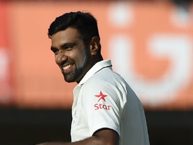 Ravichandran Ashwin recorded match-figures of 13/140. AFP
