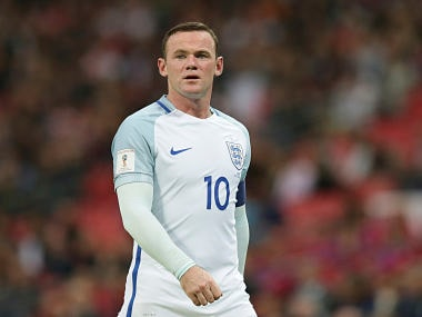 England's Wayne Rooney in World Cup Qualifier against Malta. AP