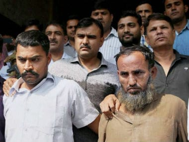 Maulana Ramzan (right) and Subhash Jangir (left), who have been arrested by the Delhi Police Crime Branch in connection with sharing sensitive information. PTI