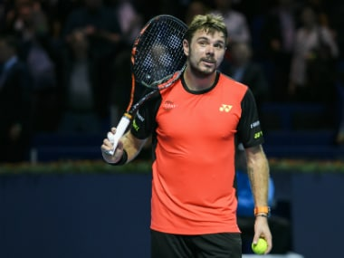 Top-seed Wawrinka is now through to the quarters. AFP