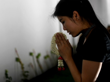 There's a 30 day mourning period being observed in Thailand after the death of their King. AFP