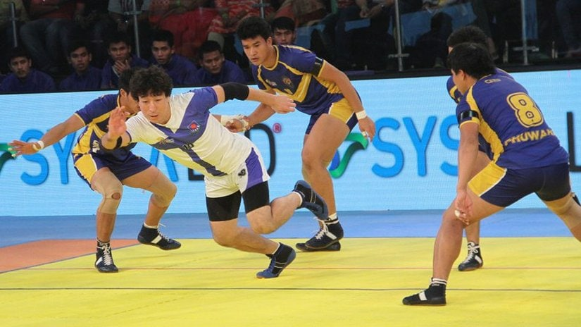Thailand sneaked past Japan in the final group match to qualify for semi-finals. Image courtesy: Official 2016 KWC website