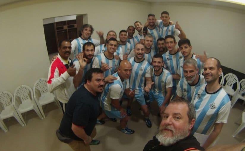 The Argentina Kabaddi team. Image Credit: Deepti Patwardhan/Firstpost