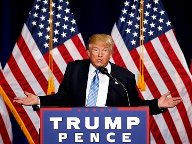 A file photo of Donald Trump. AP