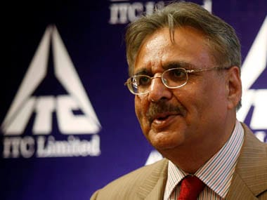 Y.C. Deveshwar, chairman, ITC. Reuters