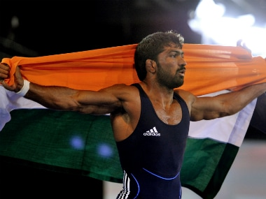 File image of Yogeshwar Dutt. AFP