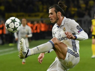 Gareth Bale is currently out with an ankle-injury. AP