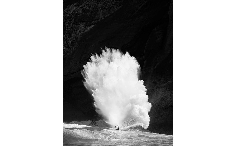 Australian photographer Luke Shadbolt won the prize for the Energy category with his picture of surfer Renan Faccini set against a huge swell in Rio De Janeiro, Brazil. Luke Shadbolt/ Redbull Illume