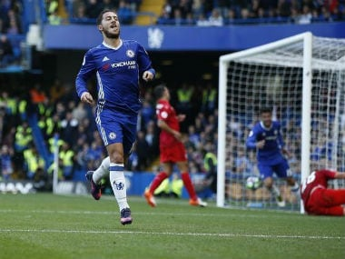 Eden Hazard has been in fine goal-scoring touch this season. Reuters