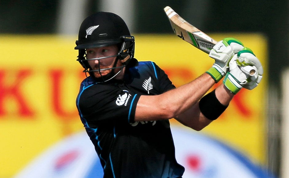 New Zealand's Martin Guptill top scored for Kiwis. He scored 72 and was also declared as man of the match. AP