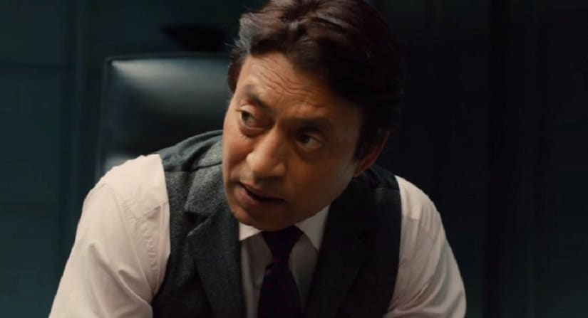 Irrfan Khan in a still from 'Inferno'