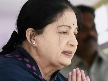 File photo of Jayalalithaa. PTI