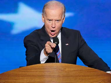 A file photo of Joe Biden. AP