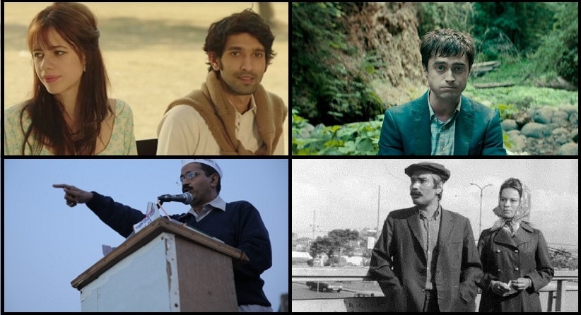 (Clockwise) Stills from 'A Death in the Gunj', 'Swiss Army Man', Turkish film 'The Bride' and 'An Insignificant Man'