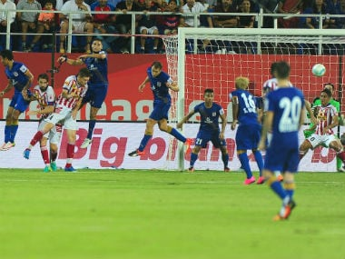 The Mumbai City FC defence has been in top form conceding only one goal in three matches. Sportzpics