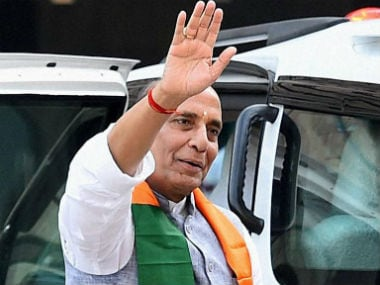 File image of Union home minister Rajnath Singh. CNN-News18