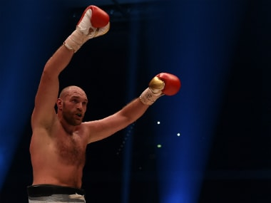 File photo of Tyson Fury. AFP
