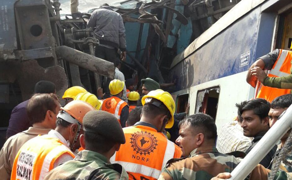 Most of the dead were crushed to death, an official of the National Disaster Response Force (NDRF) told IANS. Some of the injured were in critical condition. Photo: Naveen Lal Suri/ Firstpost