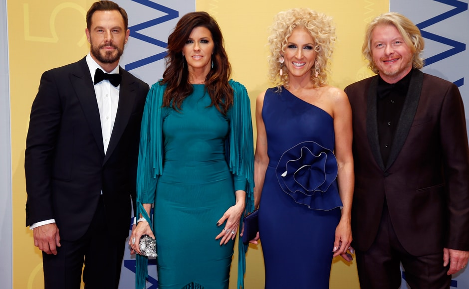 Country quartet Little Big Town performed their latest single