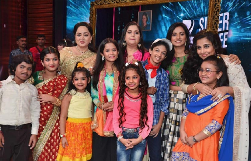 Kids from India's Best Dramebaaz had dressed up for the occasion. Image courtesy: News18
