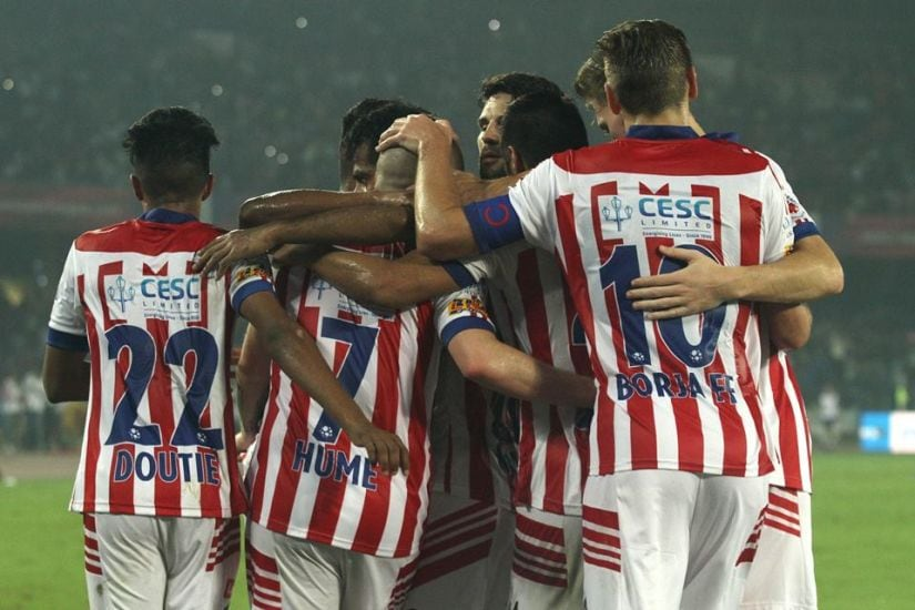 Atletico de Kolkata are top of the ISL table at the halfway stage. Image courtesy: Facebook