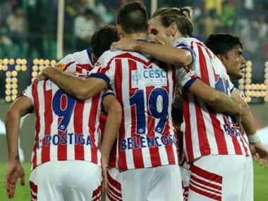 File photo of the Atletico de Kolkata players. Twitter/atletidekolkata