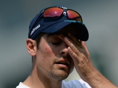 File image of Alastair Cook. AFP