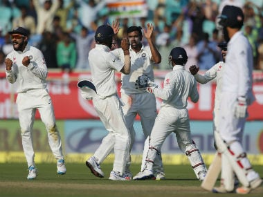 File photo of Indian cricket team. AP
