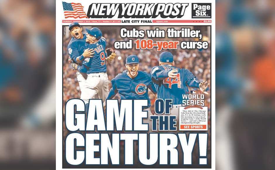 "New York Post heralded the final as the ""Game of the century""."
