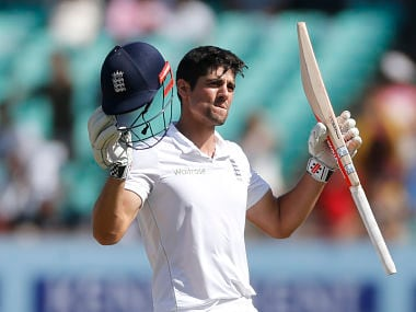 Alastair Cook. AP