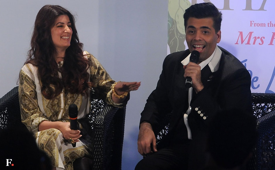 A light moment between the two friends. Twinkle Khanna had recently appeared on Koffee With Karan with her husband Akshay Kumar. Sachin Gokhale/Firstpost