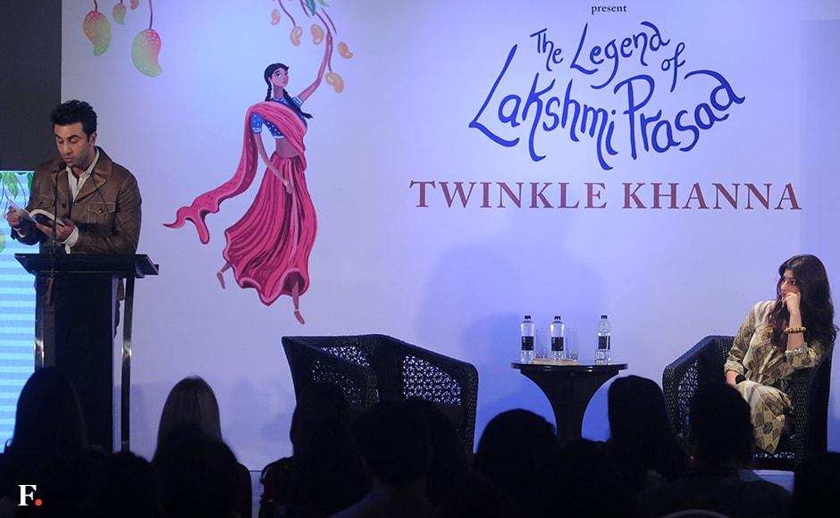 Ranbir Kapoor reads out from 'The Legend of Lakshmi Prasad' Sachin Gokhale/Firstpost